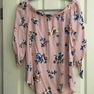 Off shoulder blouse- brand new without tags